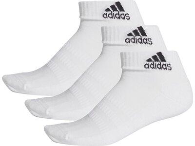 adidas Cushioned Ankle Socken, 3 Paar Grau