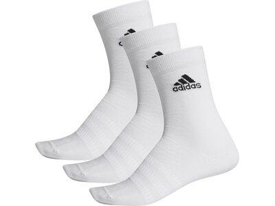 ADIDAS Herren Socken LIGHT CREW 3PP Grau