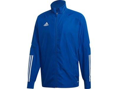 ADIDAS Fußball - Teamsport Textil - Jacken Condivo 20 Präsentationsjacke Blau