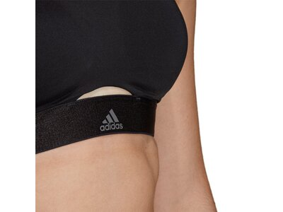 ADIDAS Damen Stronger For It Soft Sport-BH Schwarz