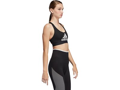 ADIDAS Damen Don't Rest Badge of Sport Sport-BH Braun