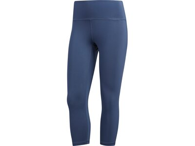 ADIDAS Damen Believe This High-Rise 3/4-Tight Blau