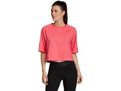 ADIDAS Damen T-Shirt Sport ID Pink