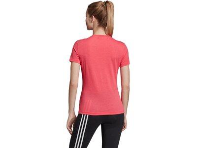 ADIDAS Damen T-Shirt Must Haves Badge of Sport Pink