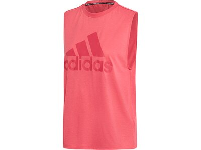 ADIDAS Damen Tanktop Must Haves Badge of Sport Pink