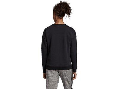 ADIDAS Damen Sweatshirt MH BOS CREW Schwarz