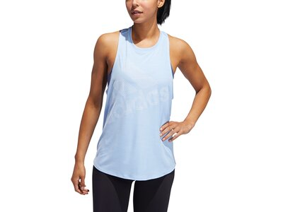 ADIDAS Damen Tanktop Badge of Sport Blau