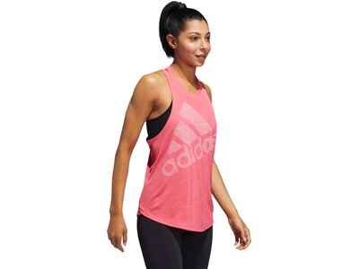 ADIDAS Damen Tanktop Badge of Sport Pink