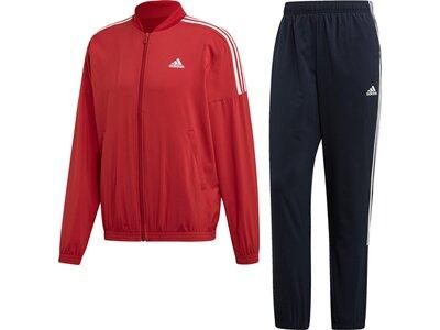 ADIDAS Herren Light Woven Trainingsanzug Rot