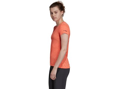 ADIDAS Damen T-Shirt Tivid Pink