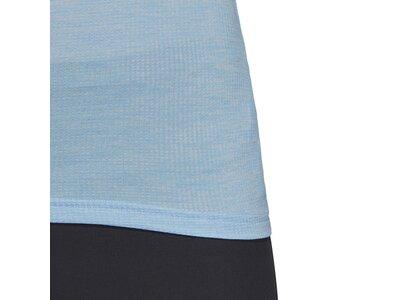 ADIDAS Damen Tivid T-Shirt Silber