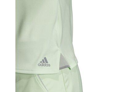 ADIDAS Damen T-Shirt 3-Streifen Club Braun