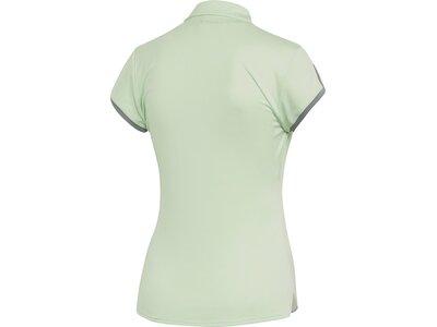 ADIDAS Damen Club 3-Streifen Poloshirt Silber