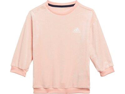ADIDAS Kinder Sportanzug I G VELOUR SET pink