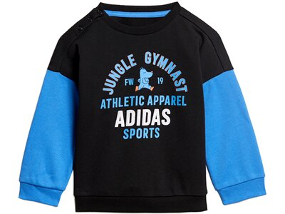 ADIDAS Kinder Sportanzug I GRAPH JOG FT Blau