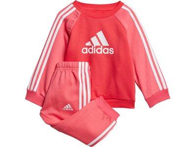 ADIDAS Kinder Sportanzug I LOGO JOG FL Pink