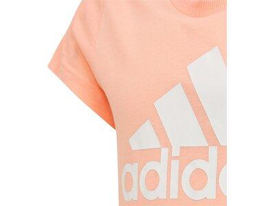 ADIDAS Kinder T-Shirt Must Haves Badge of Sport Tee Braun