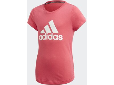ADIDAS Mädchen T-Shirt Must Haves Badge of Sport Pink