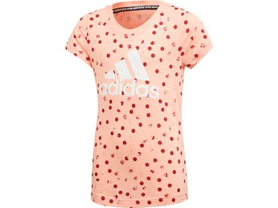 ADIDAS Kinder T-Shirt Must Haves Graphic Pink
