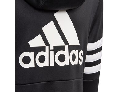 ADIDAS Kinder Hooded Trainingsanzug Schwarz