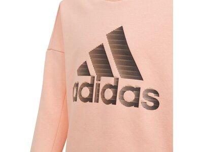 ADIDAS Kinder ID Glam Sweatshirt Rot