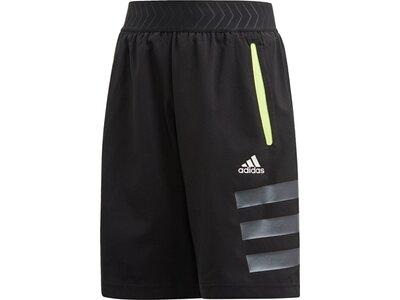 ADIDAS Jungen Fitness-Shorts Schwarz