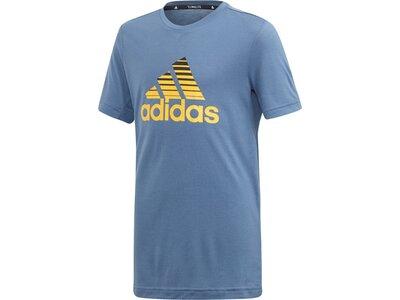 ADIDAS Herren T-Shirt Prime Grau