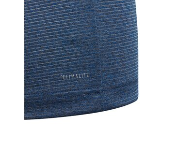 ADIDAS Kinder T-Shirt Textured Blau