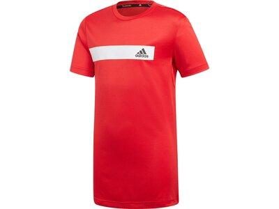 ADIDAS Kinder T-Shirt Train Cool Rot