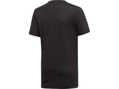 ADIDAS Kinder T-Shirt All Caps Schwarz
