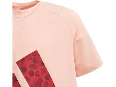 ADIDAS Kinder T-Shirt Statement pink