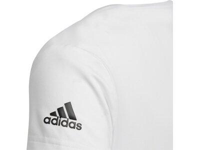 ADIDAS Kinder T-Shirt Font Weiß