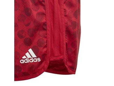 ADIDAS Kinder Marathon Shorts Rot