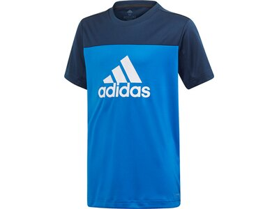ADIDAS Kinder T-Shirt Equipment Blau