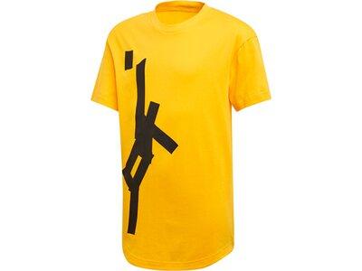 ADIDAS Kinder T-Shirt Sport ID Graphic Gelb