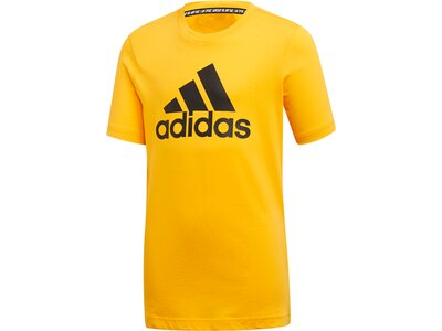 ADIDAS Herren Must Haves Badge of Sport T-Shirt Gelb