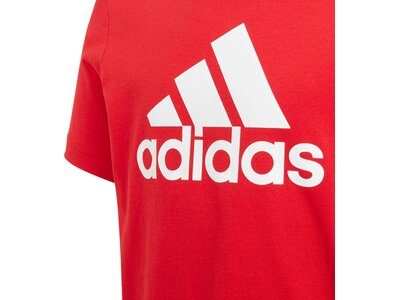 ADIDAS Kinder T-Shirt Must Haves Badge of Sport Rot