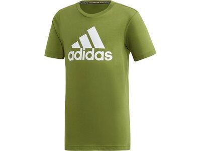 ADIDAS Kinder T-Shirt Must Haves Badge of Sport Grün