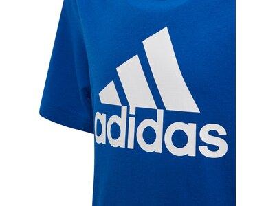 ADIDAS Herren Must Haves Badge of Sport T-Shirt Blau