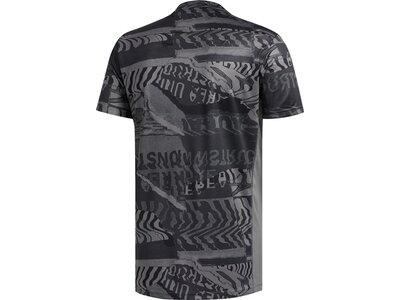 adidas Herren Own The Run Graphic T-Shirt Grau