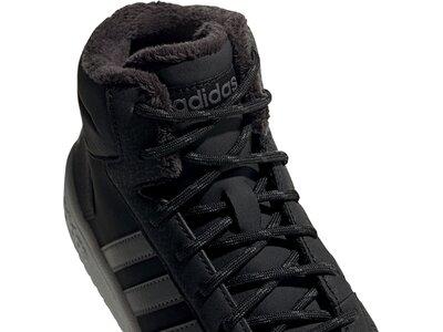 ADIDAS Hoops 2.0 Mid Schuh Schwarz
