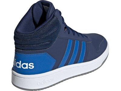 ADIDAS Kinder Basketballschuhe HOOPS MID 2.0 Blau