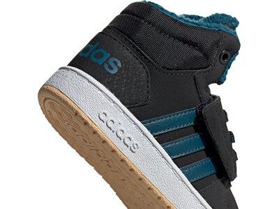 ADIDAS Kinder Hoops 2.0 Mid Schuh Grau