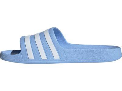 adidas Damen Schwimmen Sport Adiletten Hausschuhe Blau