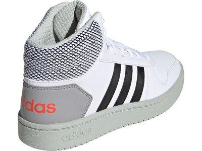 ADIDAS Kinder Basketballschuhe HOOPS MID 2.0 Silber