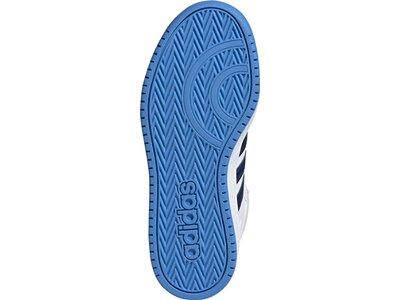 adidas Kinder Hoops Mid 2.0 Schuh Grau