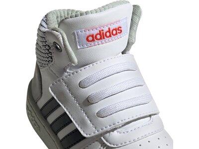 ADIDAS Kinder Basketballschuhe HOOPS MID 2.0 I Silber