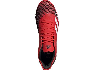 ADIDAS Fußball - Schuhe - Nocken Predator Uniforia 20.2 FG Rot