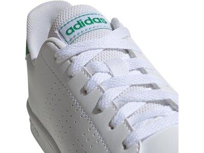 ADIDAS Kinder Tennisindoorschuhe ADVANTAGE K Weiß