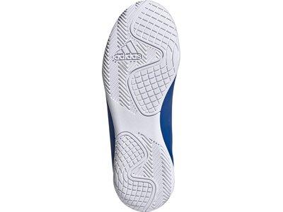 adidas Kinder X 19.4 IN Fußballschuh Blau